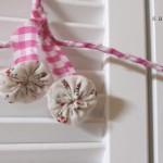 見た目かわいい裂き布ハンガー作り方