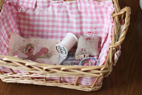 かご 裁縫箱
