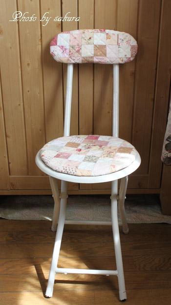 リメイク白の椅子