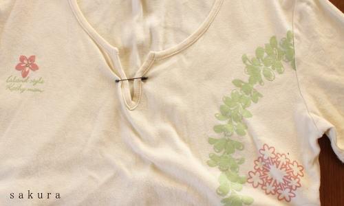 夏のTシャツリメイク