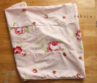 手作り枕カバー