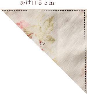 三角巾縫い方