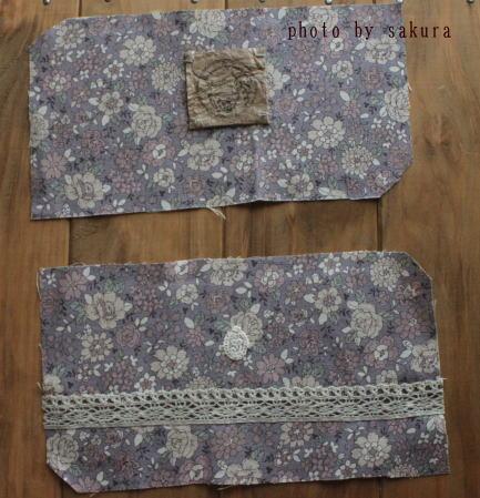 簡単長財布 紫