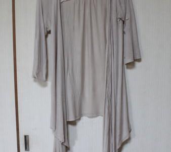 洋服リメイクカーディガン