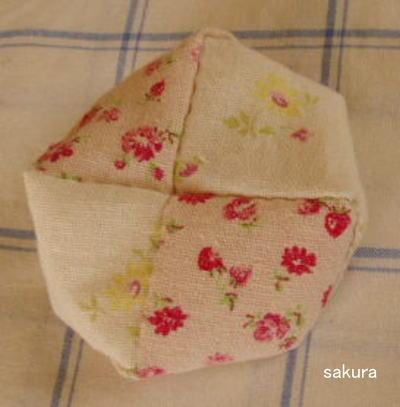 お手玉 座布団型 作り方
