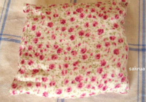 お手玉 枕型 作り方