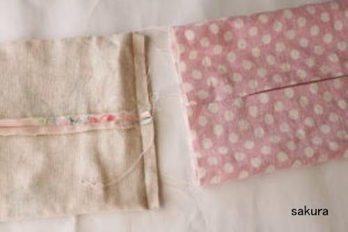 カバー ティッシュ 布 作り方 ボックス