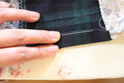 パッチワークスカート縫い方