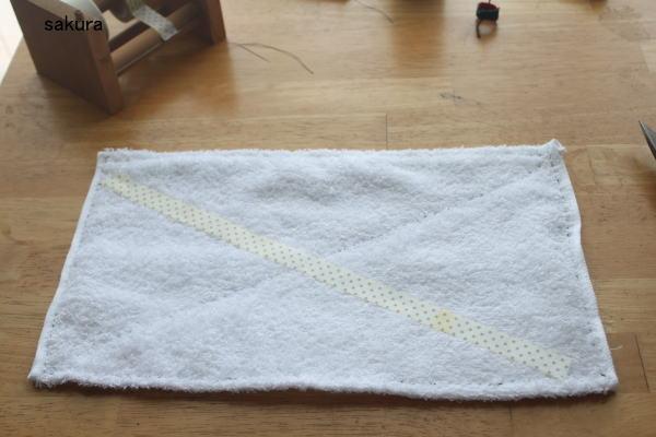 雑巾作り方 手縫い