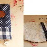 布で作る可愛いブックカバーー作り方 型紙付き