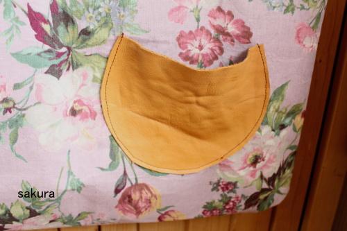 バッグ 革のポケット