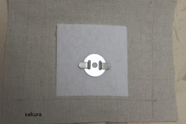磁石ボタンマグネット付け方