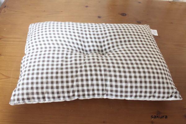 枕カバー手作り