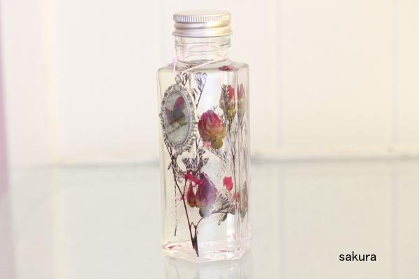 ハーバリウム 薔薇のつぼみ