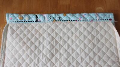 ナップサック作り方 縫い方