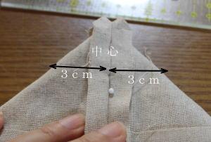 トートバック作り方・縫い方 マチ