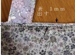 トートバック作り方・縫い方