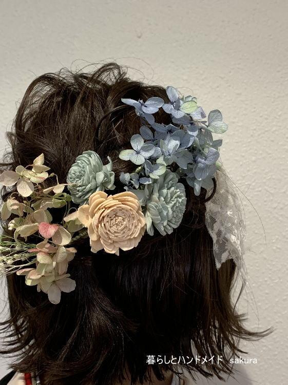 袴の髪飾り ヘアコーム